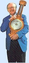 Michael Fish and his barometer