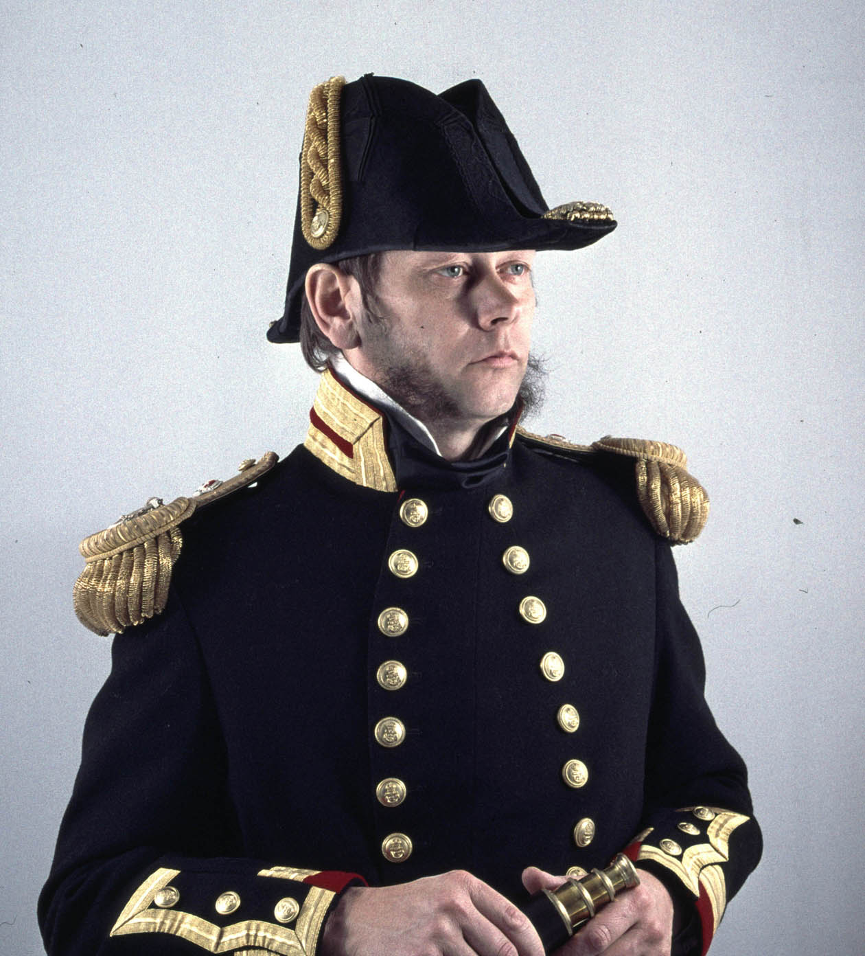 Philip Collins of Barometer World as Captain Robert FitzRoy