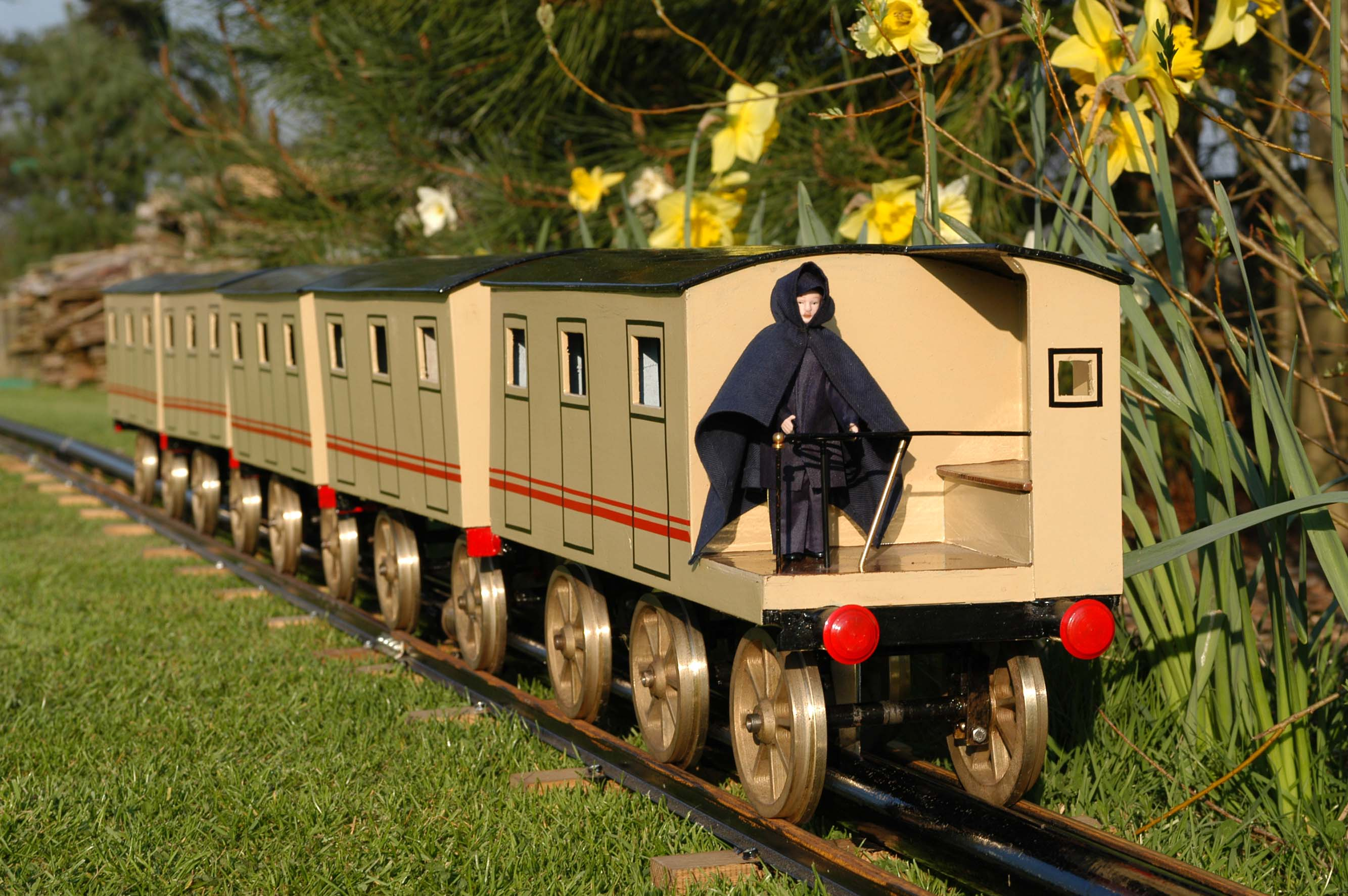 Brunnels atmospheric railway Model